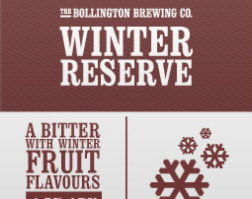 The Bollington Brewing Co. Winter Reserve